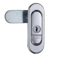 Swing Handle Chrome Plated Metal Plane Lock