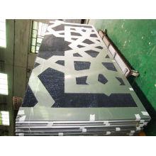 Творческие архитектурные алюминиевые сотовые панели для украшения