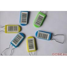 PD001 Selos de cadeado evidente temperamento de plástico e Metal