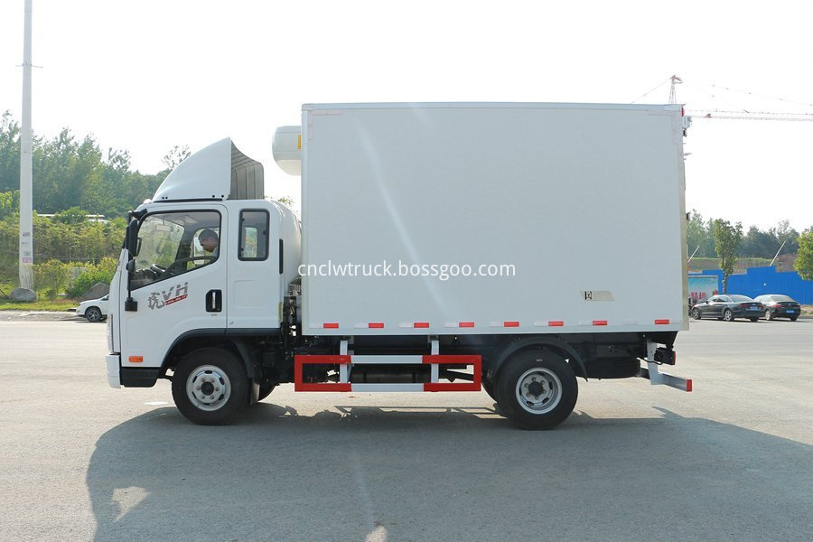 meat refrigerator truck 2