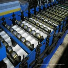 Metal frio Roll forma máquina de cobertura
