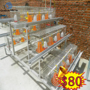 Broiler Chicken Cage / Poultry Farm Equipment