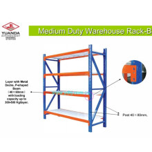 Steel Stacking Pallet System Storage Rack