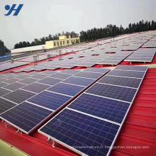 Système de montage de panneaux solaires Unistrut à flexion à froid