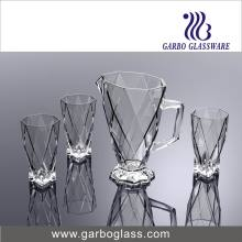 7PCS Clear Glass Water Set