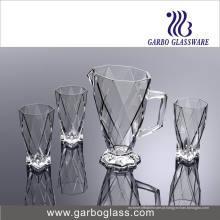 Novo Design de alta qualidade 7PCS Glassware Drinking Set