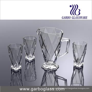 New Design High Quality 7PCS Glassware Drinking Set