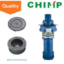 Bomba sumergible sumergida en aceite antiexplosiva de 3kw / 4HP 380V / 50Hz (QY65-10-3)