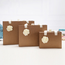 Hard board gift sliding packaging box