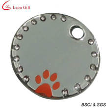 Hot Sale Pet ID Tag Diamond Pet Tag (LM1616)