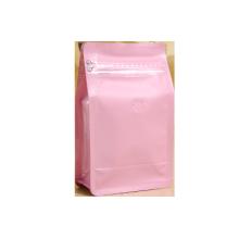 Bunter Plastikboxbeutel mit Ventil