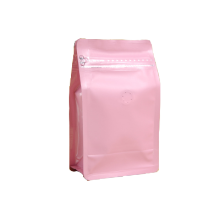 Colorful Plastic Box Pouch with valve