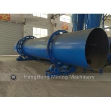 Máquina de secador de tambor rotatorio de flujo de aire caliente