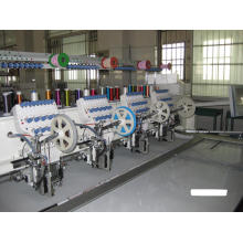 Máquina doble de lentejuelas (una vez alimentación dos PCS lentejuelas)
