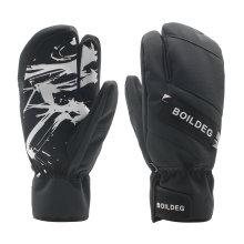 Luvas de esqui mornas confortáveis da tela de toque adulta para a fêmea
