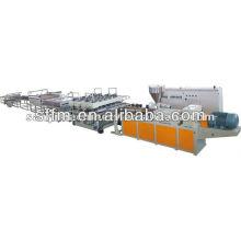Haute qualité de l'équipement de fabrication de feuilles de mousse pvc