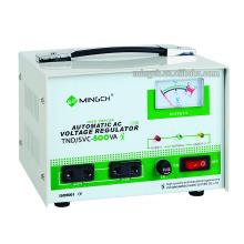 Kundenspezifische Tnd / SVC-0,5k Einphasenserie Vollautomatischer Wechselspannungsregler / Stabilisator