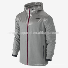 2014 full-zip Sweatless Mens Formação Jacket