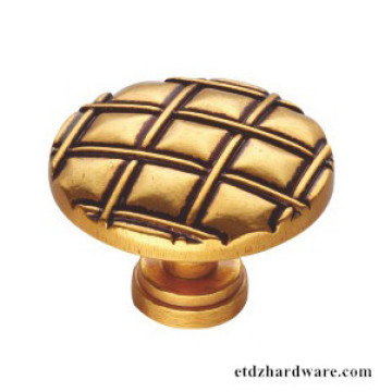 Classical Handle Zinc Knob For Home Furniture