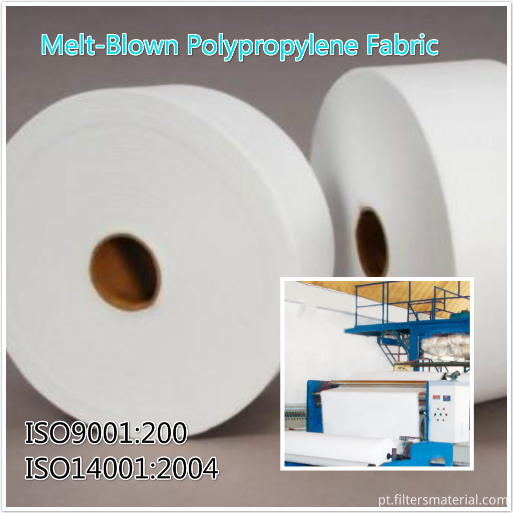 Melt-Blown Polypropylene Fabric -Filter Media