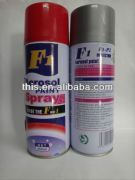 450ml ISO9001 F1 red heat resistant spray paint