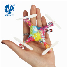 2.4G 4 CH 6 Eje RC colorido Quadcopter MINI RC Drone de bolsillo para ventas al por mayor