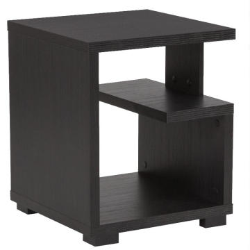Bank Side Black Old Floor Tea Table UK