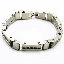 Bracelet de cadeaux communion d'amitié en acier inoxydable populaire