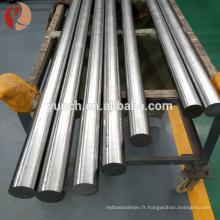 Zr1 Zr2 99.5% barre pure de zirconium / tige pour la vente