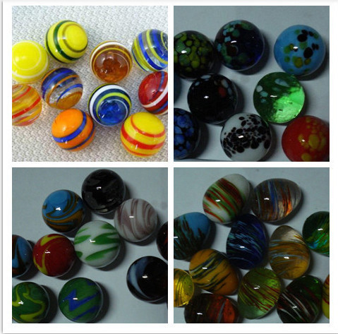 hand made glass marble
