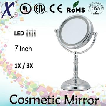 7′′ LED espelho cosmético