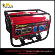 LPG Gasoline Petrol Powered Portable Generator 2.2kVA 5kVA Price