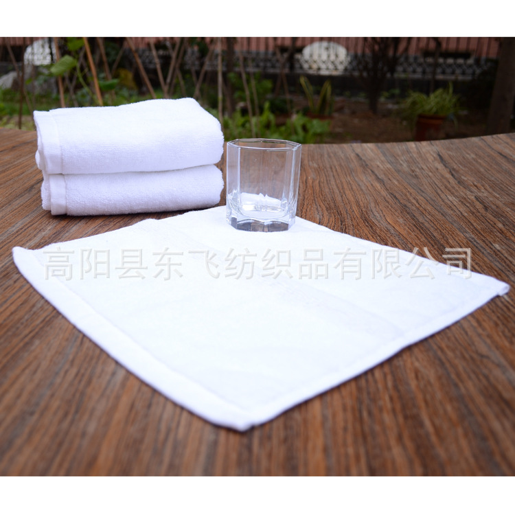 Plush Hotel Washcloth