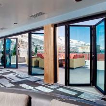 New Design aluminum Folding Doors Price