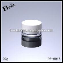 Pot cosmétique de crème de visage de 20g