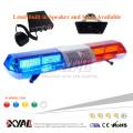 0.25W F5 full size emergency warning light bar police roof top light bar flashing LED bar