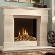 Modern Home Decoration Mantels Fireplace Sandstone
