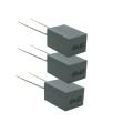 Mini caja 5mm película de poliester condensador