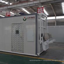 Stérilisateur de déchets médicaux avec désinfection à micro-ondes