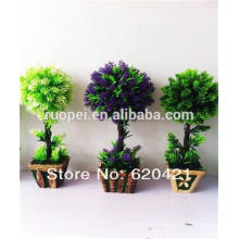 Yiwu Mini artificial potted plants decorative artificial plants