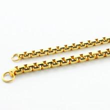 2015 moda design colar de aço inoxidável e conjunto de jóias pulseira