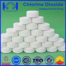 Hochreines Chlordioxid zur Schwimmbaddesinfektion