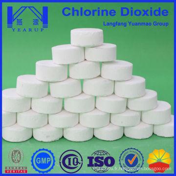 Dioxyde de chlore à haute pureté pour la désinfection des piscines