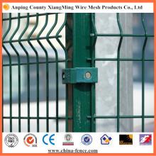 Fenêtre de clôture de sécurité commerciale galvanisée et revêtue