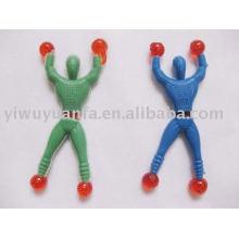 Brinquedo engraçado do homem da aranha de escalada