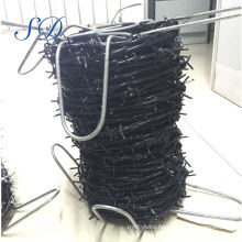Pvc Coated Barbed Wire Fence Factory
