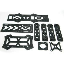 100% 3k carbon fiber laminated plate cnc