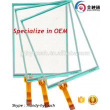 Use On Printer Resistive Transparent Glass Touch Screen