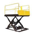 Фабрика ножничных подъемников Гидравлическая стационарная ножничная подъемная платформа