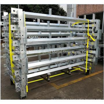 Hot DIP Galvanized Light Steel Structure Storage Racking Platform